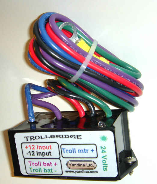 TROLLBRIDGE24 - 12 to 24 Volt Battery Charger/Combiner